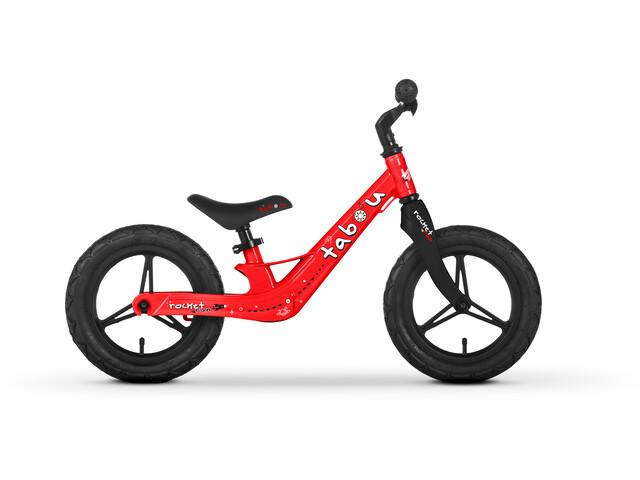"TABOU Rocket Run Magnesium Balance Bike 12"" Kids, rojo/negro"